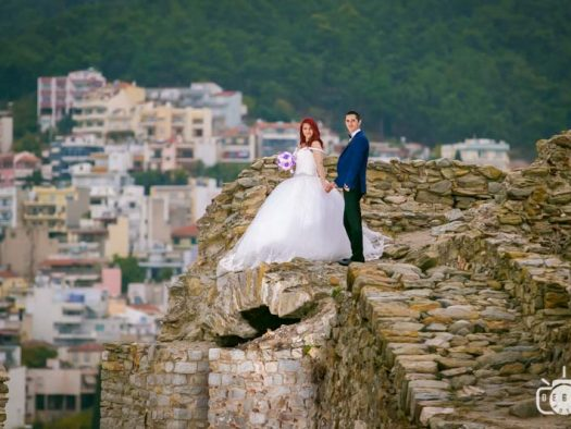 Fotograf trash the dress Grecia