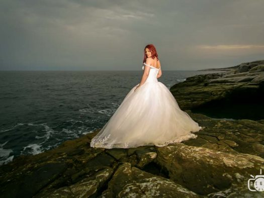 foto video Trash the dress